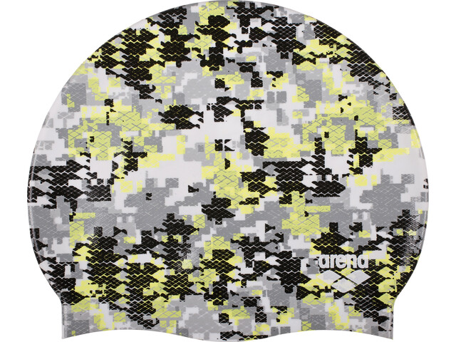 arena Print 2 Swimming Cap arena camouflage black